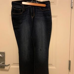 EUC Worn Once Old Navy Curvy Bootcut Jeans
